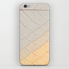 Leaves Orange iPhone Skin