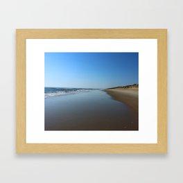 Longing For This Beach Framed Art Print