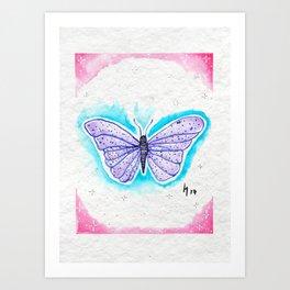 Colorful Roommate Art Print