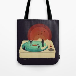 Soundwaves Tote Bag