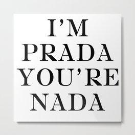 Prada/Marfa Metal Print