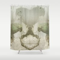 parrot Shower Curtains featuring PARROT by ED design for fun