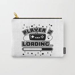 Player 2 Loading Baby Announcement Pregnancy Gift Carry-All Pouch