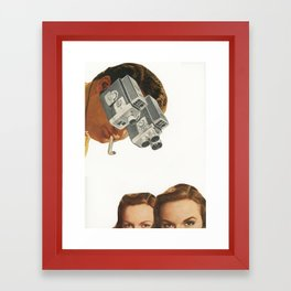 Double vision Framed Art Print