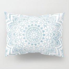 LIGHT BLUE MANDALA SAVANAH Pillow Sham
