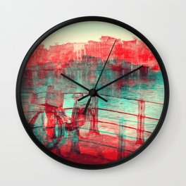 One Bicycle Wall Clock