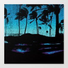 Hawaii Lap Canvas Print