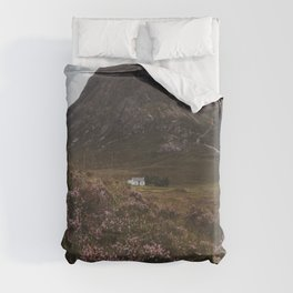 The moorland house - Landscape and Nature Photography Duvet Cover