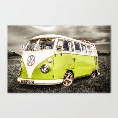 VW campervan Canvas Print