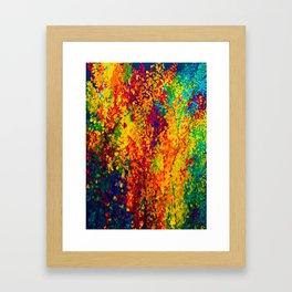 Joseph's Coat Trees Framed Art Print