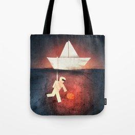 Ocean Diver Tote Bag