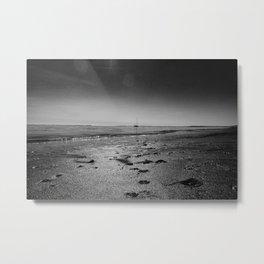The northsea Metal Print
