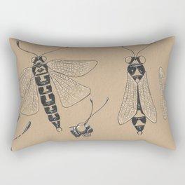 Moth Rectangular Pillow
