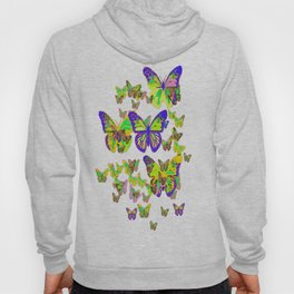 Monarch Butterflies Spring Melodies Abstract Hoody