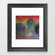 Watercolor Abstract Mini Series #3 Framed Art Print