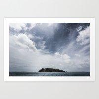 Island in the sun Art Print
