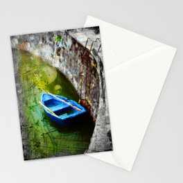 Blue Boat Stationery Cards