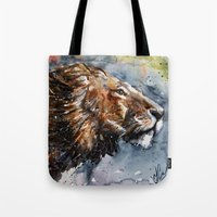 leon Tote Bags featuring Leon by KOSTART