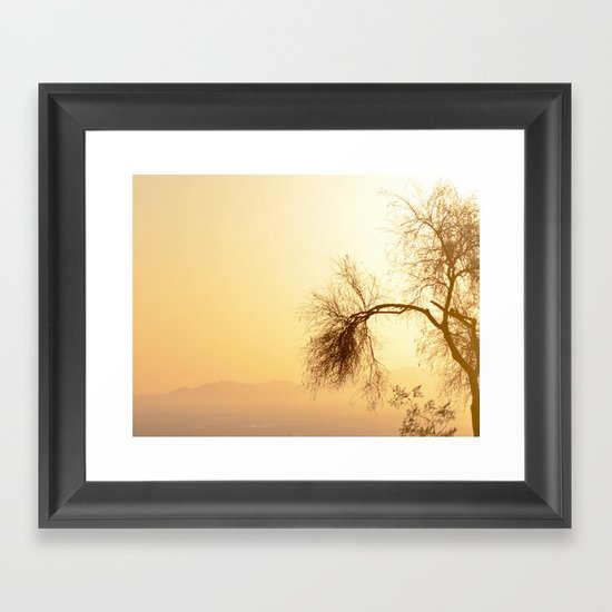 Overawed... Framed Art Print