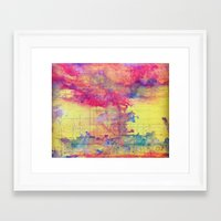 maps Framed Art Prints featuring maps by Emily Tumen