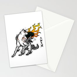 Amaterasu Ink Stationery Cards