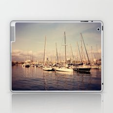Port Vell Barcelona Spain Laptop & iPad Skin