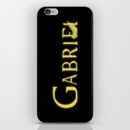Gabriel with Feather iPhone Skin