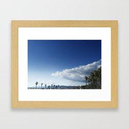 Cloud Ship Framed Art Print