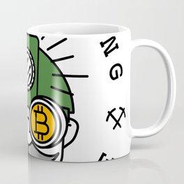 Bitcoin Mining Conference (Gnome Miner Icon) Coffee Mug
