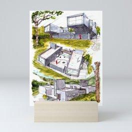 Casa Nekola Mini Art Print