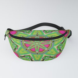 Abstract Flower AAA QQ B Fanny Pack