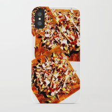 Flowers on a table 2 Slim Case iPhone X