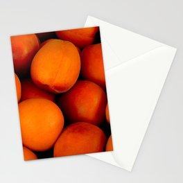 Beautiful peach fruit pattern Stationery Cards