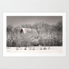 Big Red Art Print