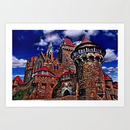 Kreuzenstein Castle Austria Art Print