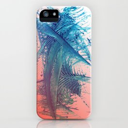 Livng Coral Salmon Surf iPhone Case