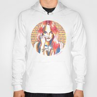 britney spears Hoodies featuring Britney Spears' Britney Jean Album by Eduardo Sanches Morelli