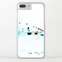 Chicklets Clear iPhone Case