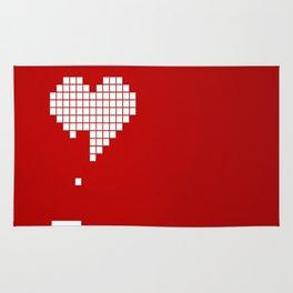 Arknoid Heart Rug