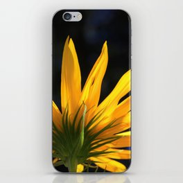 Backwards Sunflower iPhone Skin