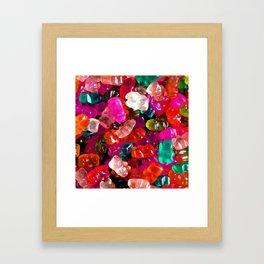 Yummy Gummies Framed Art Print