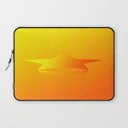 Star Flight Space Carrier - Red Orange Yellow Laptop Sleeve
