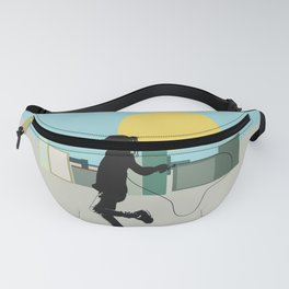 Spring in the city Fanny Pack