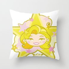 DEEVA Color1 Throw Pillow