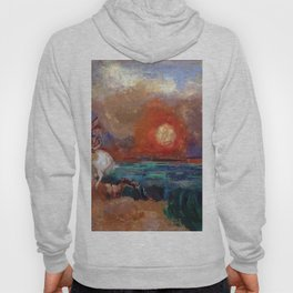 Saint George and the Dragon by Odilon Redon Hoody