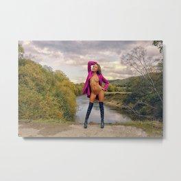 Pink IV Metal Print
