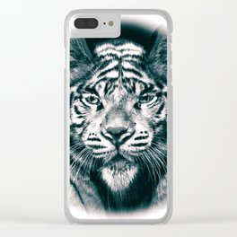 The Tiger Cat Clear iPhone Case
