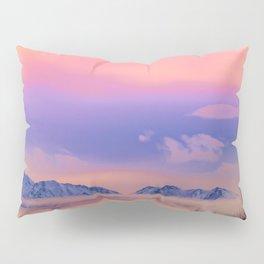 Alaskan Winter Fog Digital Painting Pillow Sham