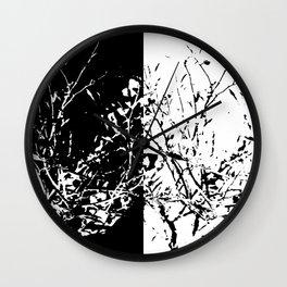 Yin Yang Bush Wall Clock