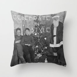 Celebrate in Style Throw Pillow